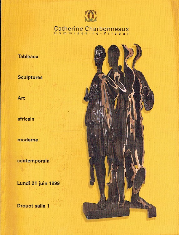 Charbonneaux June 1999 African Art, Modern & Contemporary Paintings