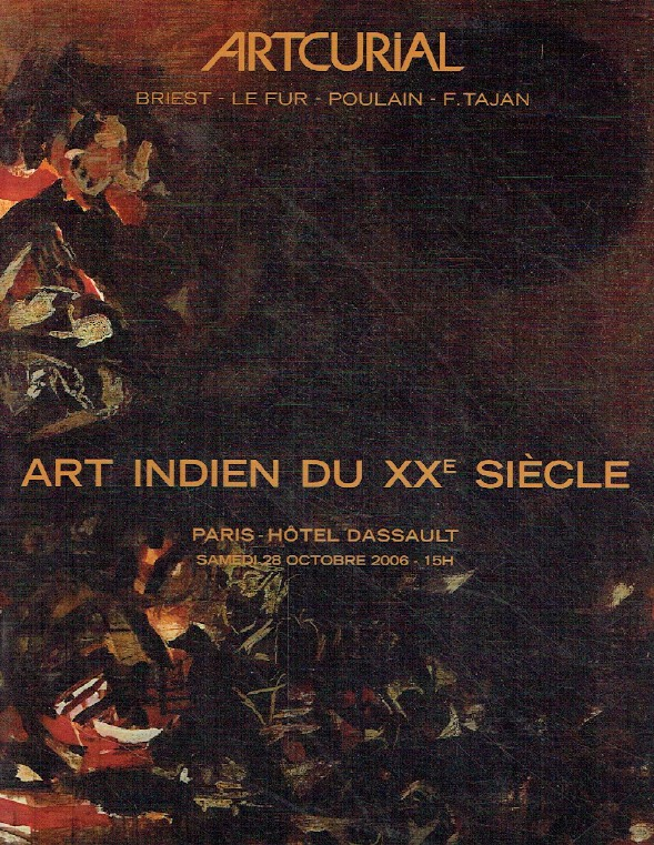 Artcurial October 2006 Indian Art of the 20th Century