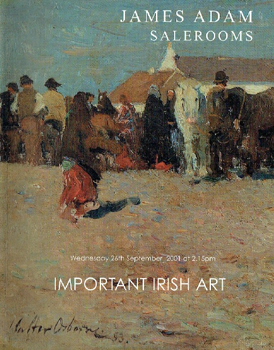 Adam September 2001 Important Irish Art