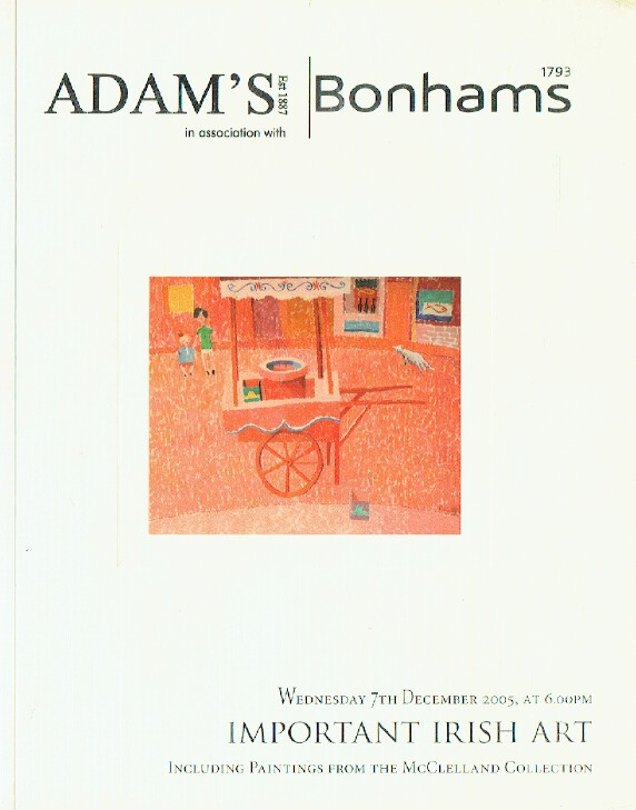 Adams & Bonhams December 2005 Important Irish Art - McClelland Collection