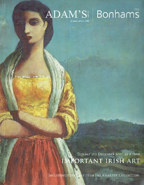 Adams & Bonhams December 2007 Important Irish Art - Kearney Collection