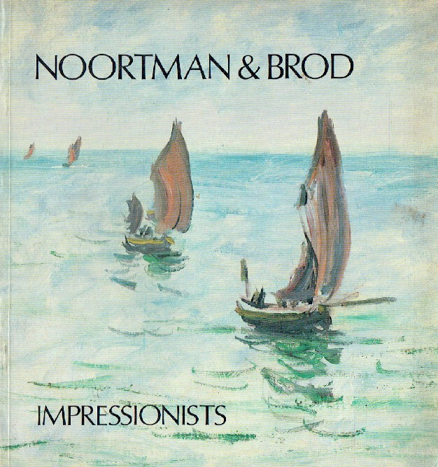 Noortman & Brod April - May 1983 French Impressionist Paintings