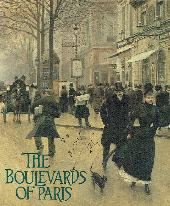 Montgomery Gallery November 1984 - January 1985 The Boulevards of Paris