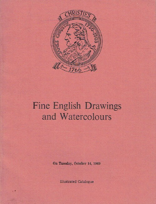 Christies October 1969 Fine English Drawings and Watercolours