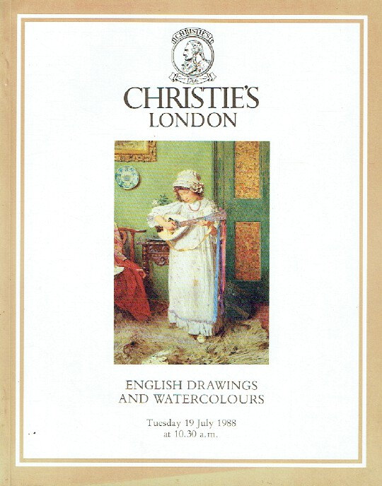 Christies July 1988 English Drawings and Watercolours
