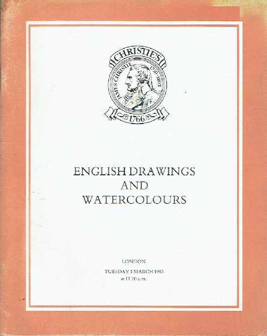 Christies March 1983 English Drawings and Watercolours