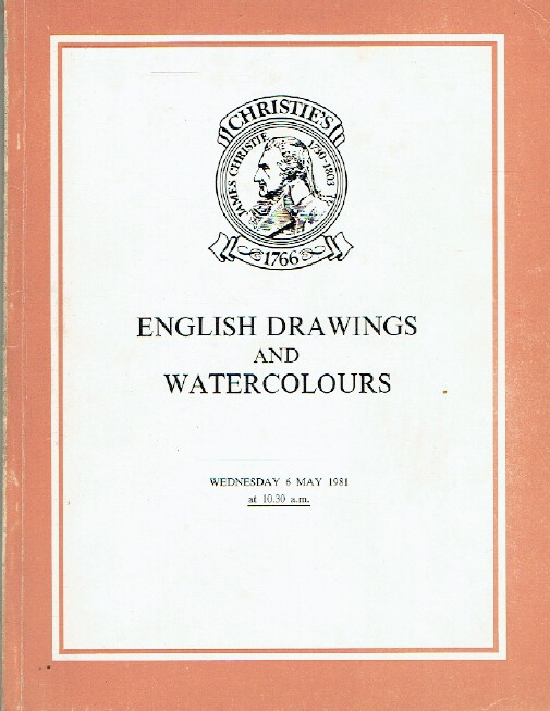 Christies May 1981 English Drawings and Watercolours