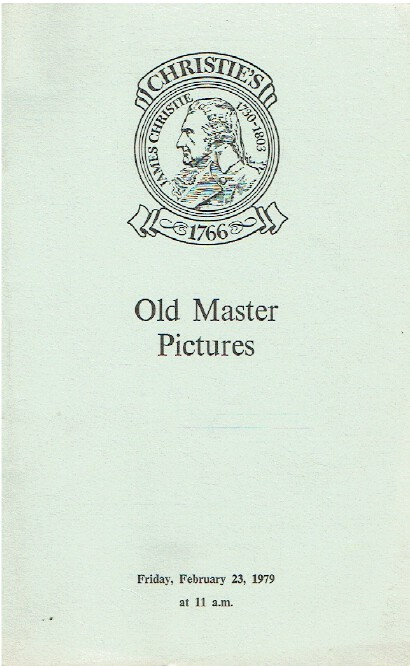 Christies February 1979 Old Master Pictures