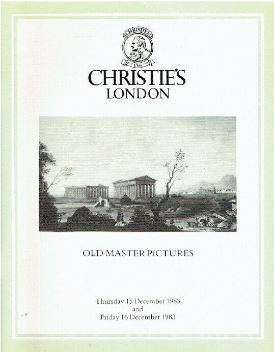 Christies December 1983 Old Master Pictures