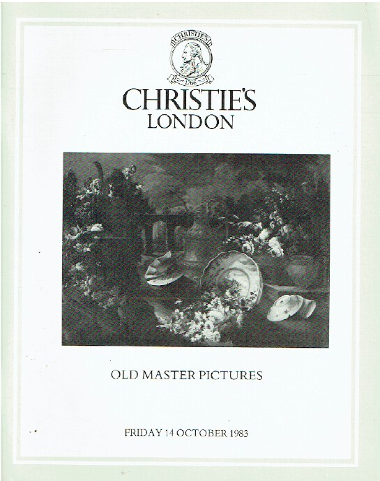 Christies October 1983 Old Master Pictures