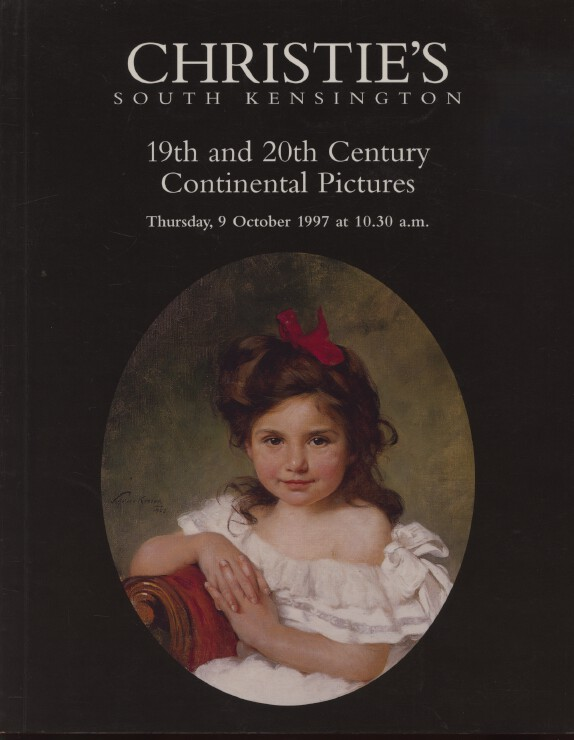 Christies 1997 19th and 20th Century Continental Pictures