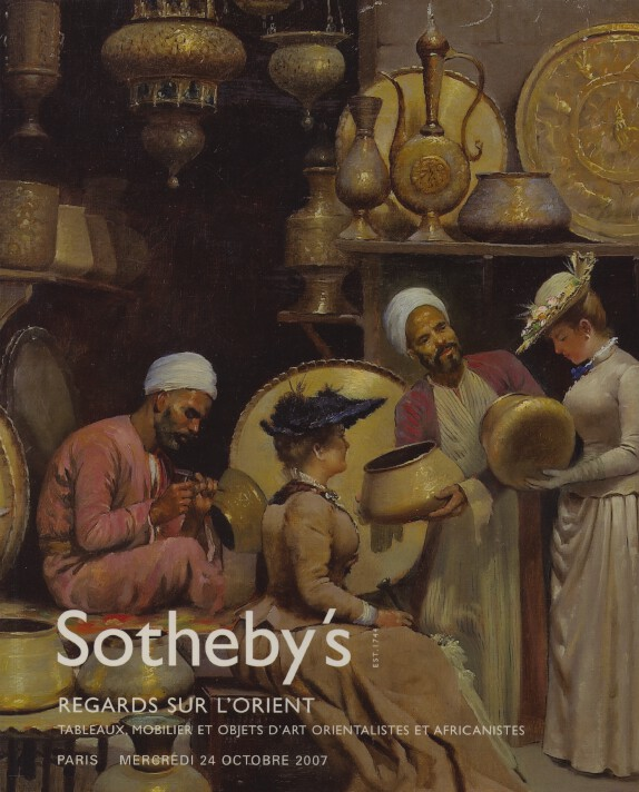 Sothebys October 2007 Orientalists & African Paintings, Furniture & Works of Art
