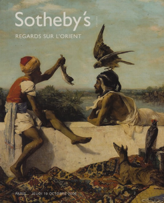 Sothebys October 2006 Orientalists Paintings, Furniture & Works of Art