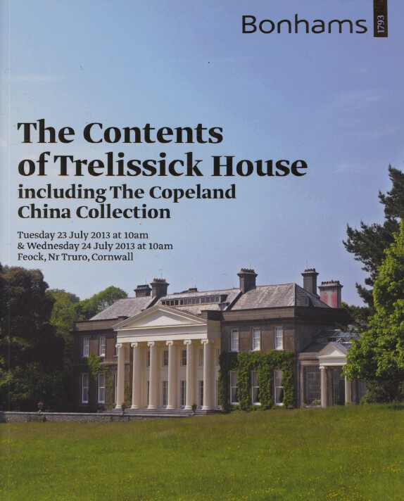 Bonhams July 2013 The Contents of Trelissick House - Copeland China Collection