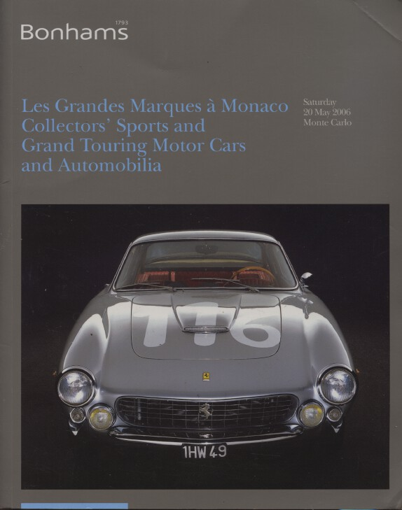 Bonhams May 2006 Collectors' Sports and Grand Touring Cars and Automobilia