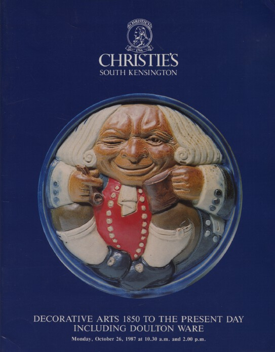 Christies 1987 Decorative Arts 1850 to Present Day, Doulton Ware