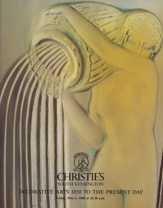 Christies 1988 Decorative Arts 1850 to the Present Day
